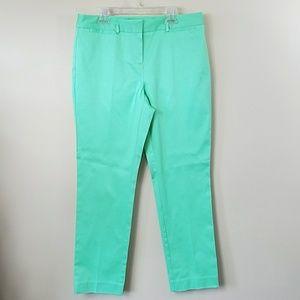 Charter Club Petite Mint Green Cropped Pants